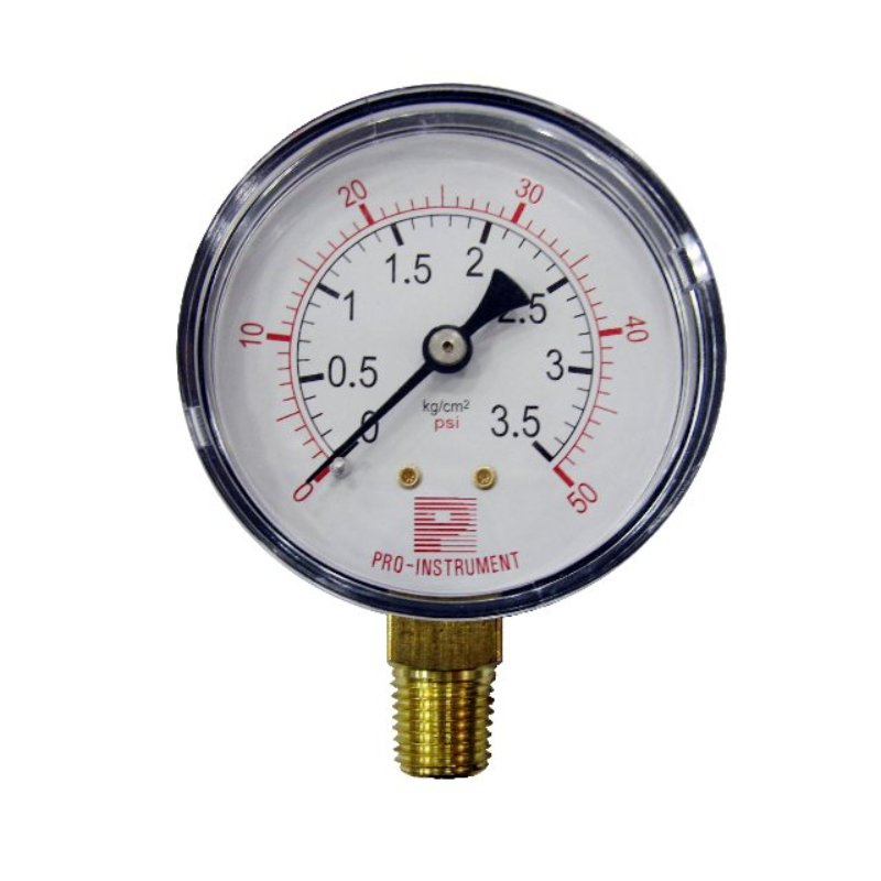 ABS case air pressure gauge