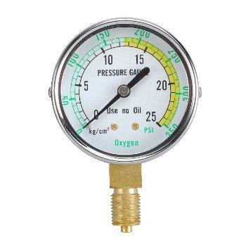 Oxygen and Acetylene gauge