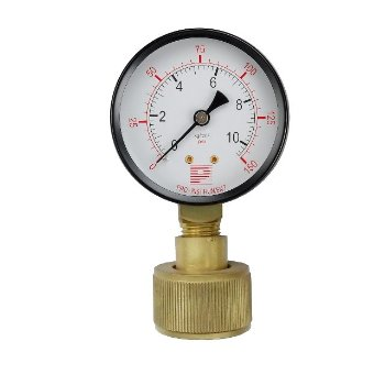 Gas, water check gauge