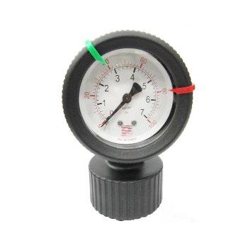 PP Diaphragm sealed pressure gauge
