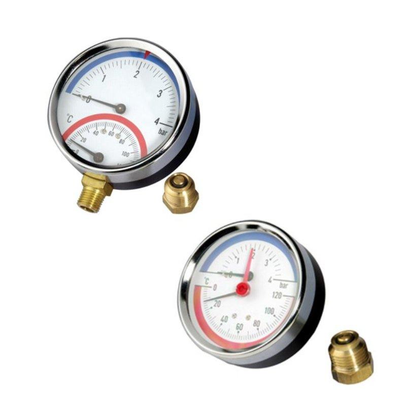 Tridicator (Pressure and temperature gauge)