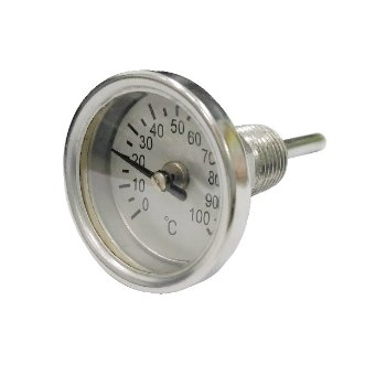 "2"" Back Connected bimetal Thermometer"