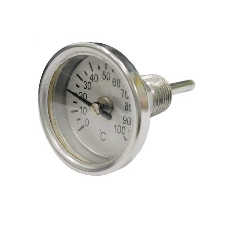 """2"""" Back Connected bimetal Thermometer"""