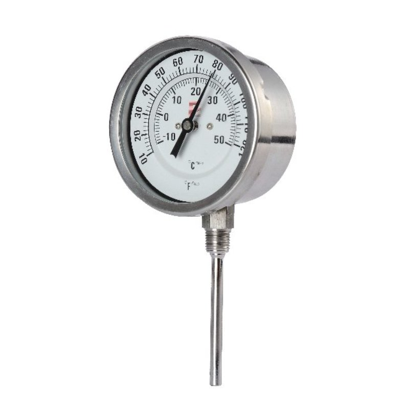 Stainless steel bimetal Thermometer
