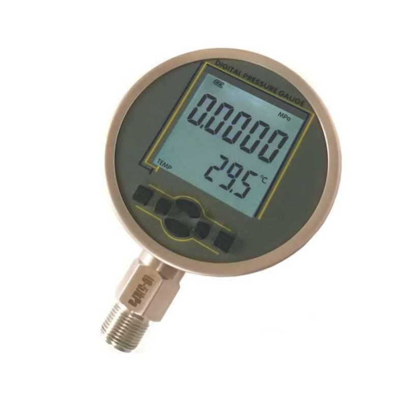 Compound or low pressure digital pressure gauge