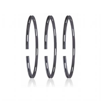 Nitriding graphite cast iron double-beveled oil ring