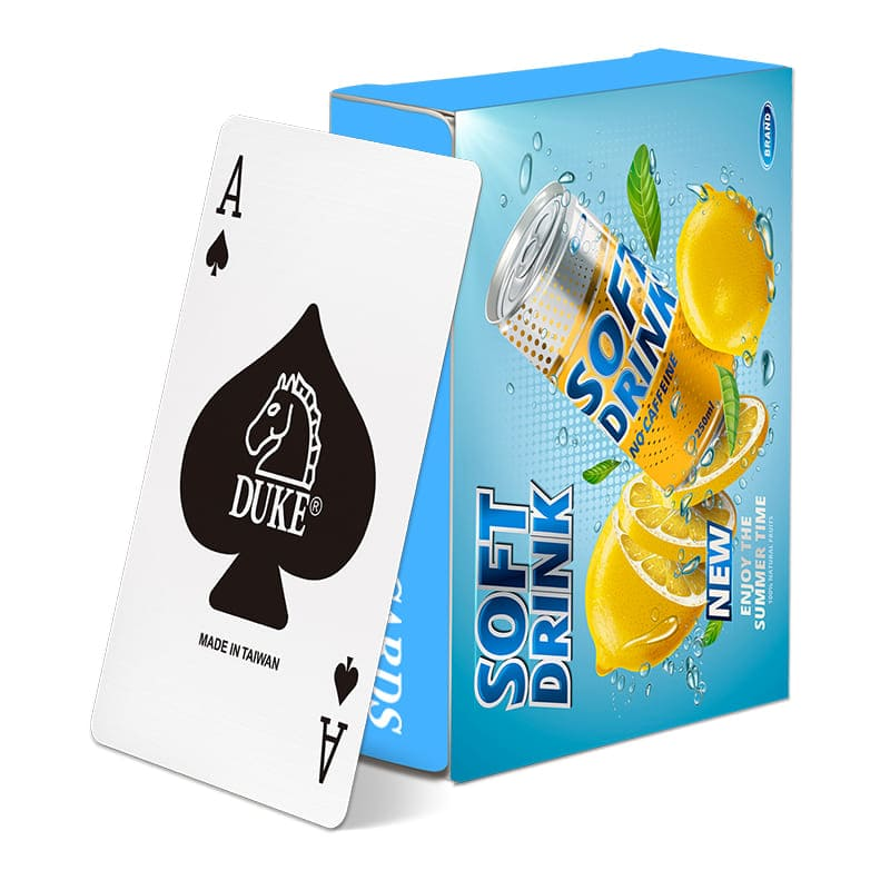 Giveaway paper poker-Beverage