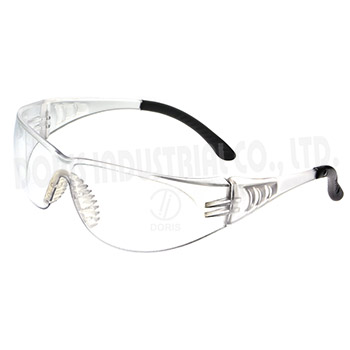 Protective EyewearOne piece wrap around spectacles with vented temples
