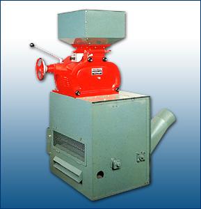 Rice Huller W/Husk Separator