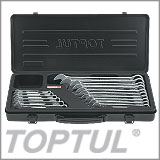 16PCS 15° Offset Super-Torque Combination Wrench Set