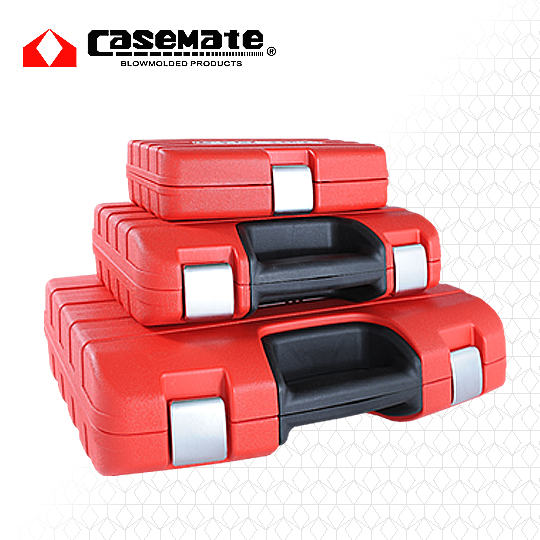 27.Blow Mold Case with Soft Material Handle