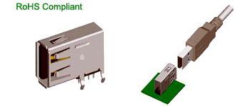 USB & IEEE 1394 Connector