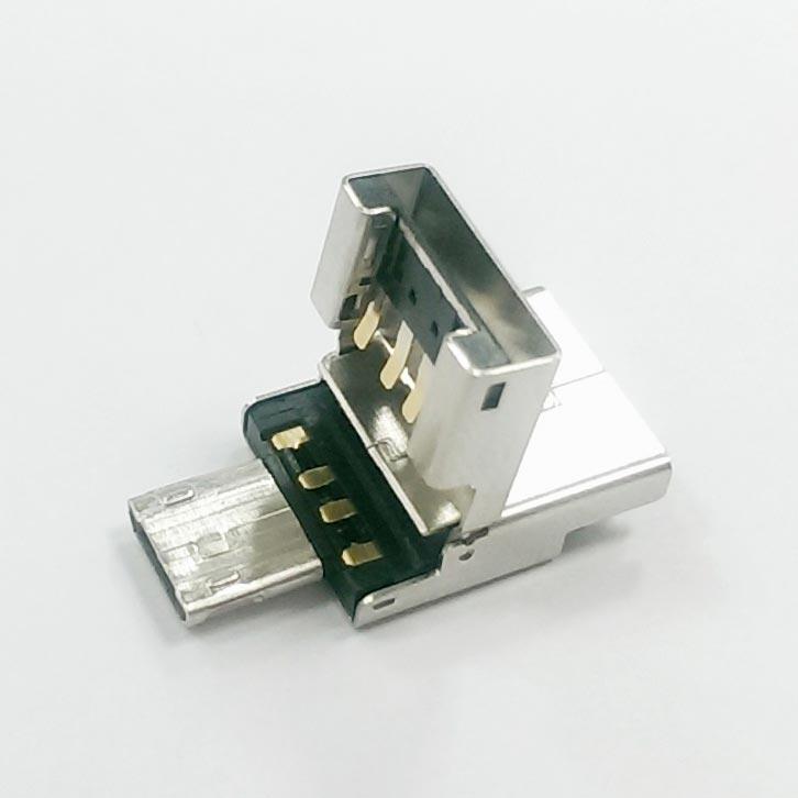 UMF Plug SOLDER Type C (Support OTG)