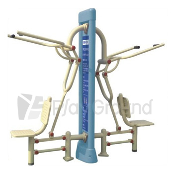 Outdoor Fitness Equipment :Chest Press / Lat Pull