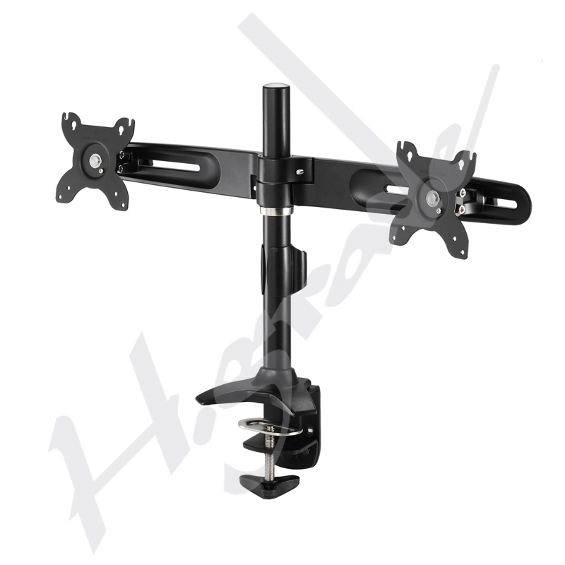 Multiple Stand - Ultra Slim Dual LCD / LED Monitor Stand - Clamp Base
