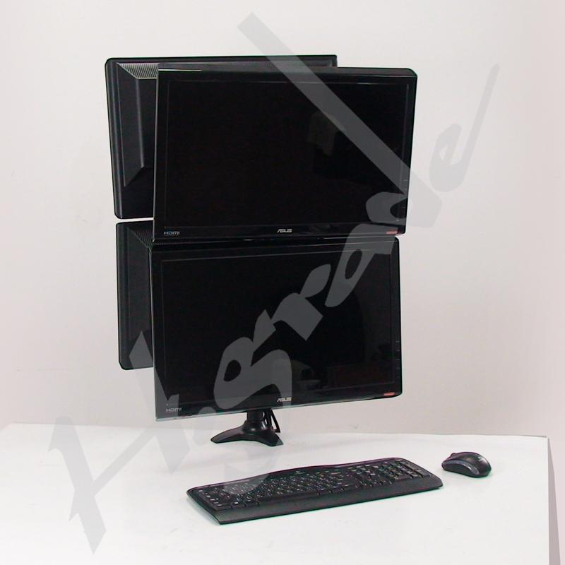 Multi Mounts - Quad LCD / LED Monitor Stand