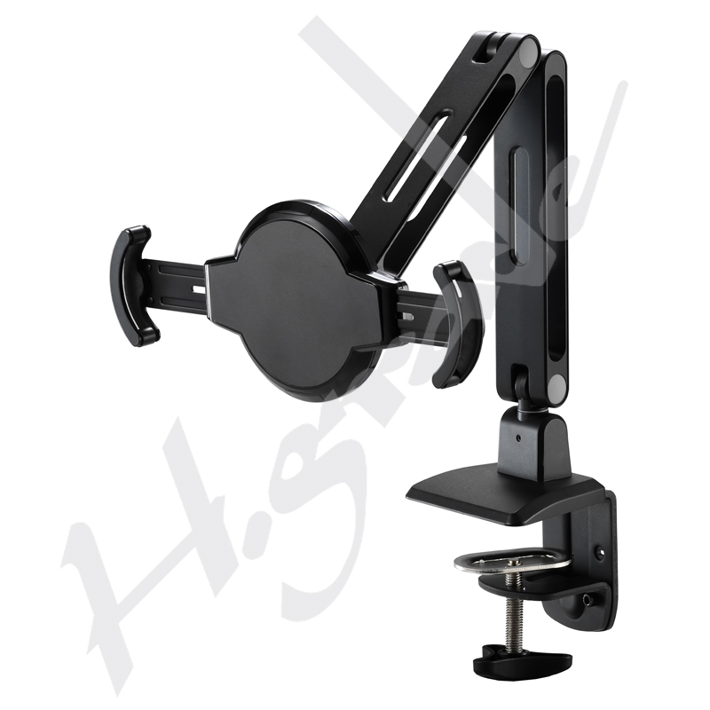 Pad / Tablet Stand, Lock series with Clamp Base - Highgrade Tech. Co., Ltd.