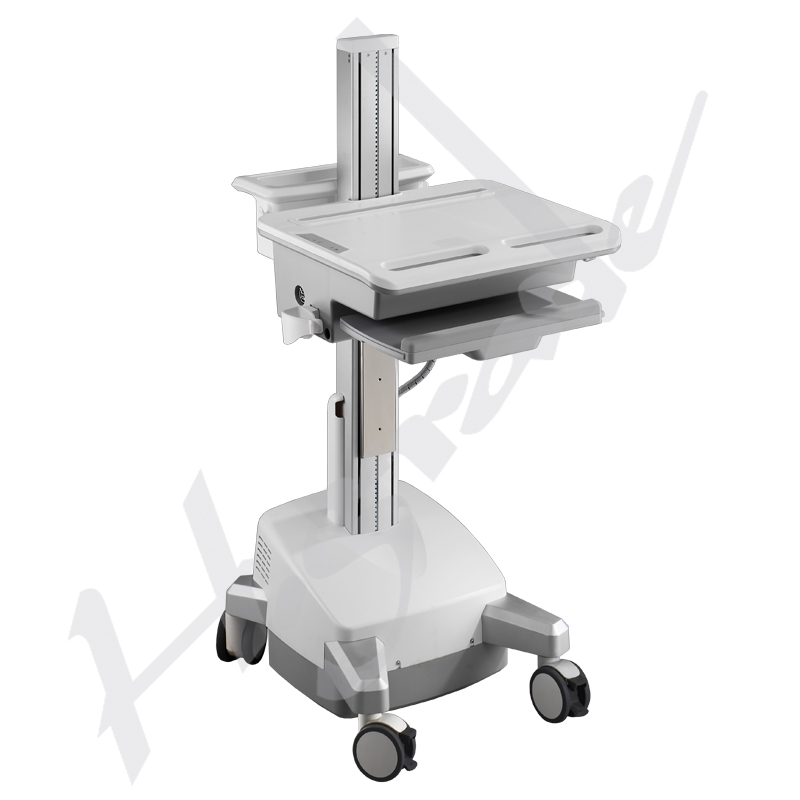 Mobile Workstation Trolley Cart for HealthCare/Medical IT - with SLA batteries to support Laptop/Notebook