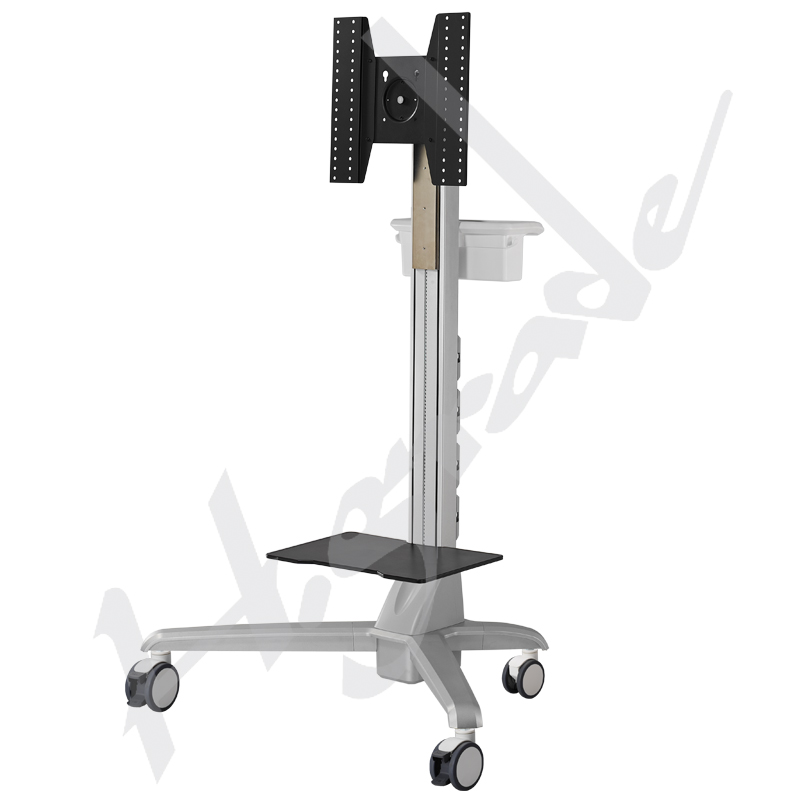 Conference Trolley Cart with Documents holder and shelf - Highgrade Tech. Co., Ltd.
