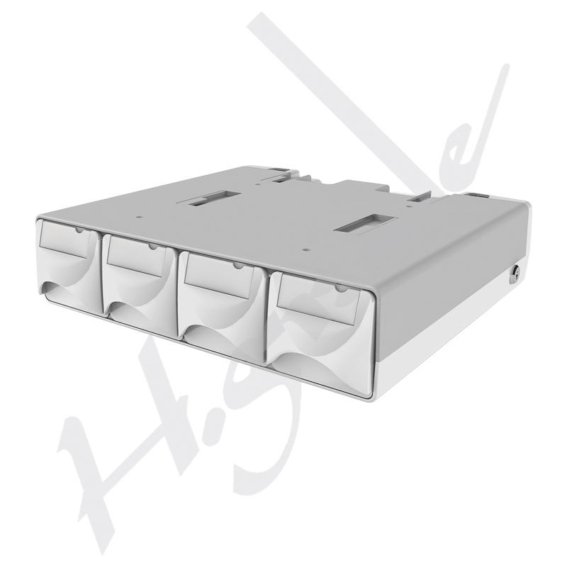 ™Parm-Aid Storage /Lockable Medication Drawer with Nursing Cart