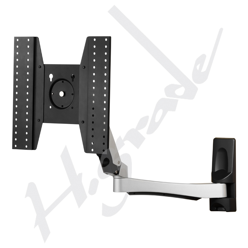360 degree swing down Cantilever Full Motion LCD TV monitor spring arm wall mount