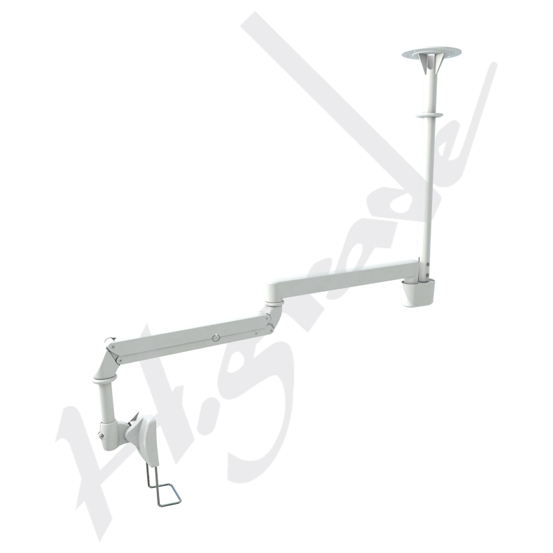 Ceiling Mounted Cantilever ARM at Bedside for Hospital Patient Infotainment-Heavy Duty