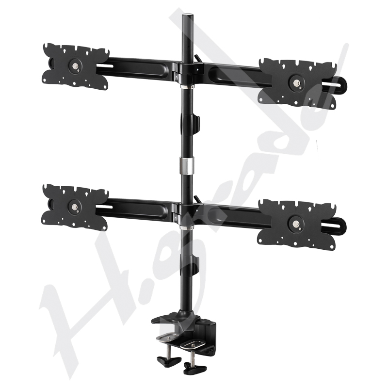 """Multiple Stand Series - Quad LED Monitor Stand - Monitor size up to 32"""""""