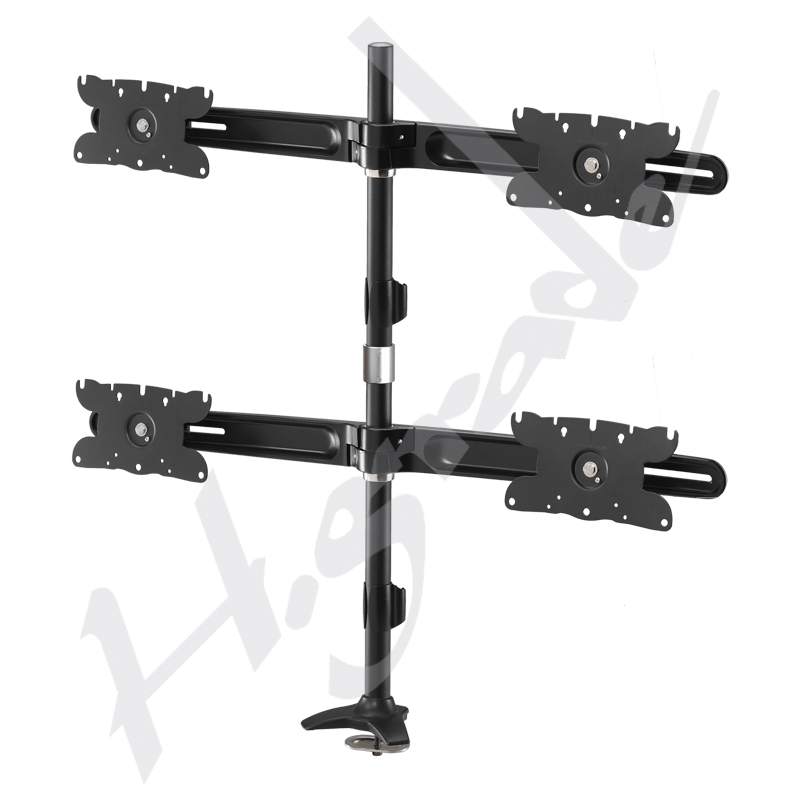 Multiple Stand Series - Quad LCD / LED Monitor Stand - Monitor size up to 32""