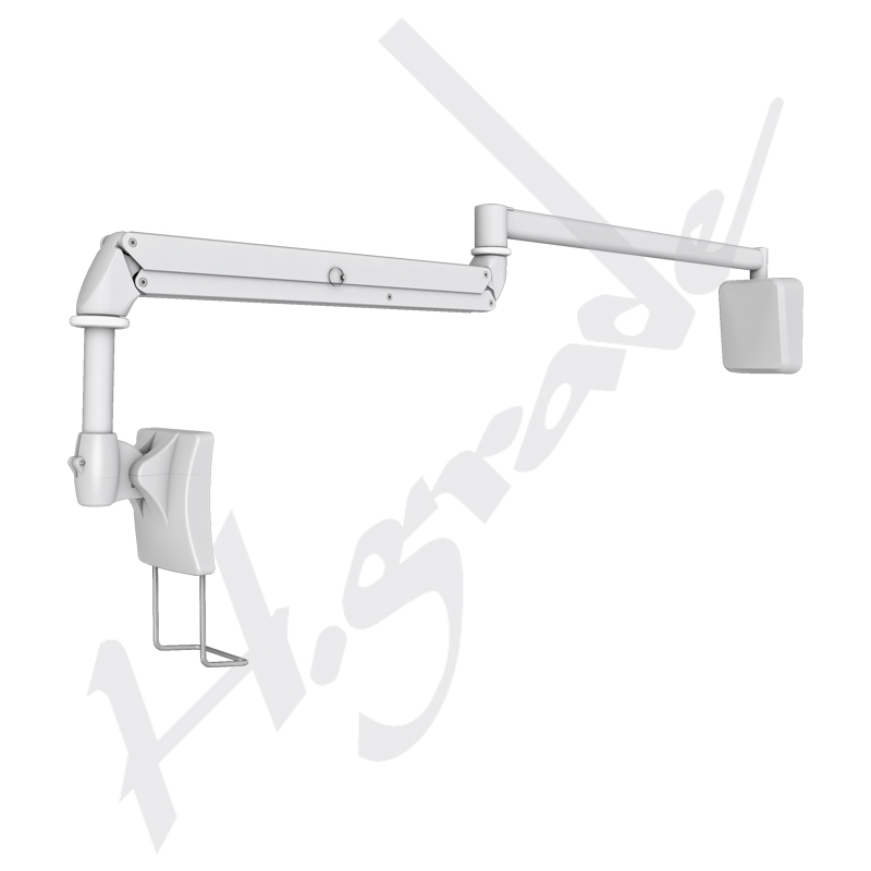 Wall Mounted Cantilever ARM at Bedside for Hospital Patient Infotainment