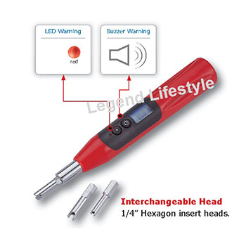 TVC100 Digital Tire valve core tool