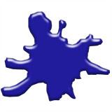 Dark Blue Glaze Stain