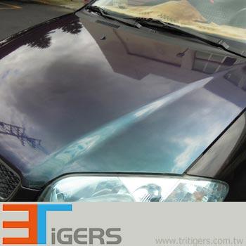 bubble free liner opaque chameleon car wraps