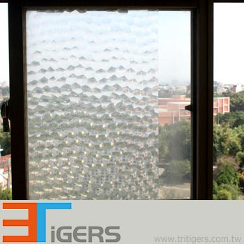 PP water cube privacy decoration window films