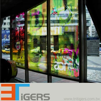 clear wide format printing media PVC films