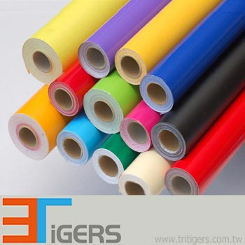 calendered self-adhesive color vinyl film for signage application