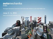 Automechanika Middle East 2014 from 06/03 to 06/05, Booth No.:S3-140