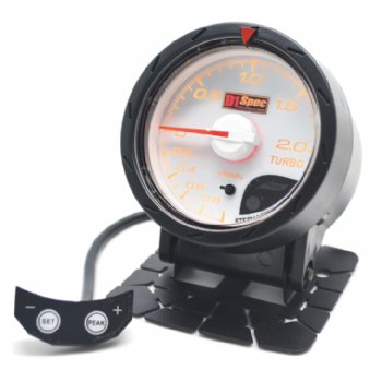 Distinct Racing Gauge II 52mm White