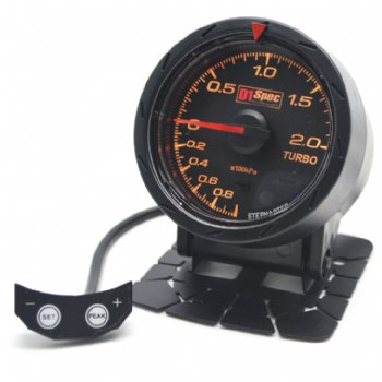 Distinct Racing Gauge II 52mm Black