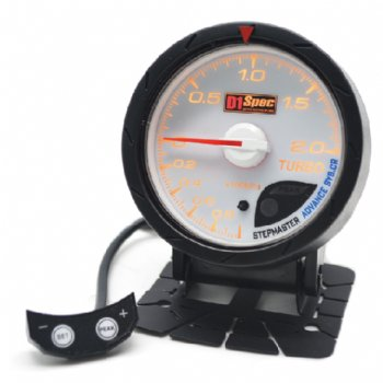 Distinct Racing Gauge II 60mm White