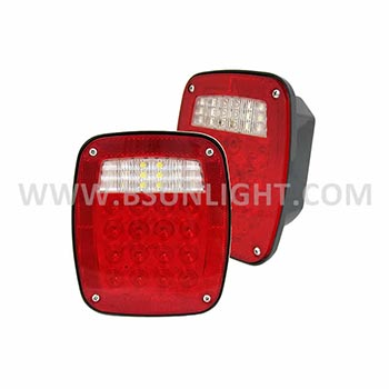 Combination tail light