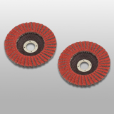SZFD-Ceramic & Zirconia Double Flaps Disc (Fiber Backing)