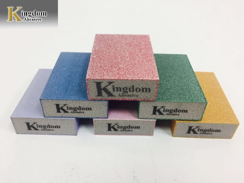 Colorful Sanding Sponge Block