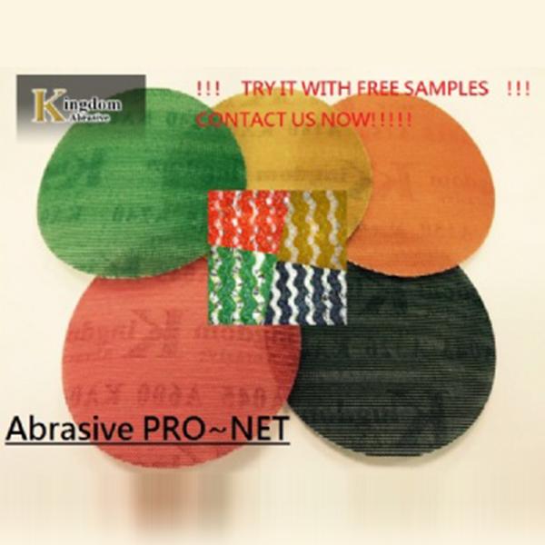 Abrasive Net (Mesh Abrasive, Sanding Mesh, sanding Screen) PRO-NET