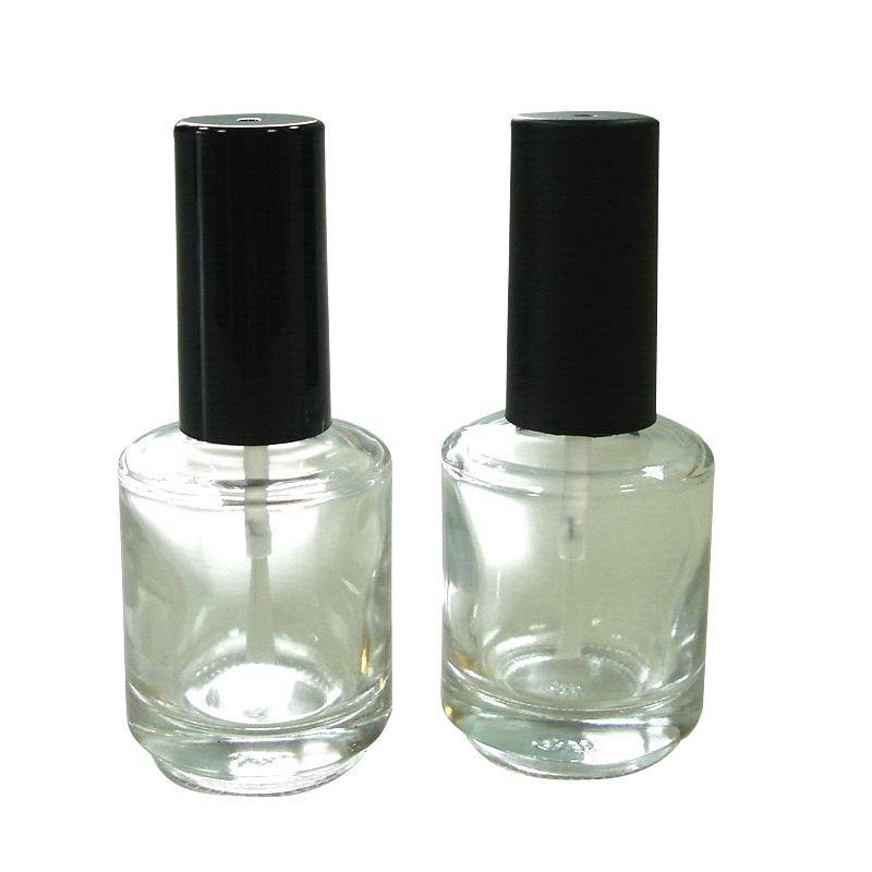 15ml Clear Glass Empty Nail Polish Bottle