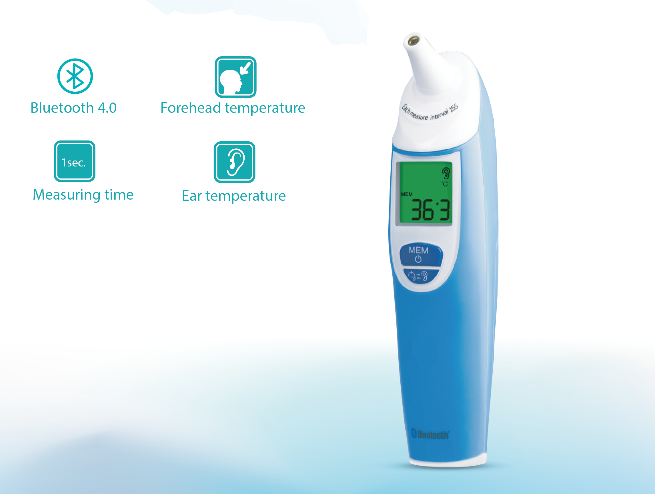 Infrared Ear and Forehead Thermometer