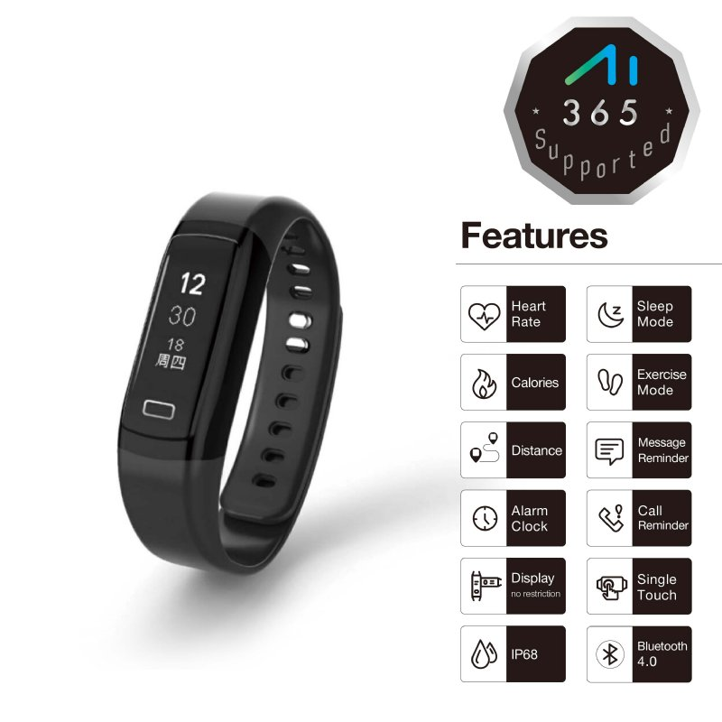 Dynamic HR Sport Wristband