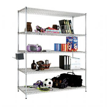 5-layer Superheavy Wire Shelving