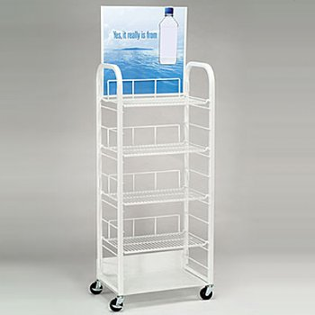 Soft Drink Display Cart