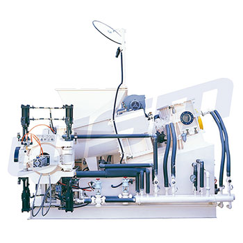 Twin Taper-Screw Extrusion Sheet Preforming Machines (Rubber Extruder)