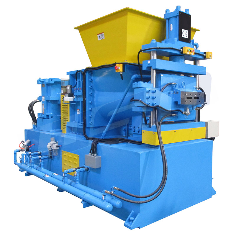 Twin Taper-screw Extruder (Rubber Extruder)
